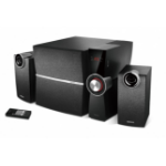 Edifier C2XD 2.1channels 53W Black speaker set