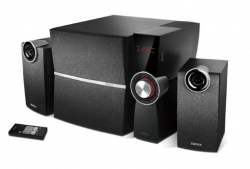 Edifier C2XD speaker set 2.1 channels 53 W Black