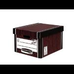 Bankers Box Fellowes Premium Classic Box Woodgrain PK10