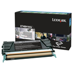Lexmark X746H1KG Toner black, 12K pages