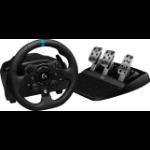 Logitech G G923 Black USB Steering wheel + Pedals PC, Xbox One