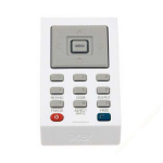 Acer VZ.K0100.002 IR Wireless White remote control