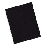 Fellowes 5217501 report cover Black Paper