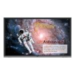 "Benq RE8601 signage display Interactive flat panel 86"" LED 4K Ultra HD Black Touchscreen"