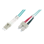 ASSMANN Electronic LC/SC, 5m Glasvezel kabel OM4 Multi kleuren