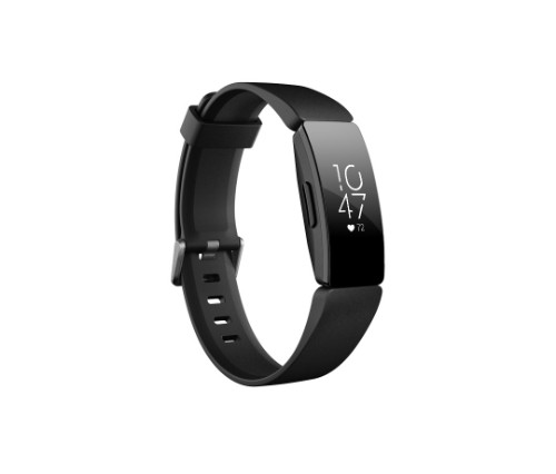 Fitbit Inspire HR Wristband activity tracker Black OLED