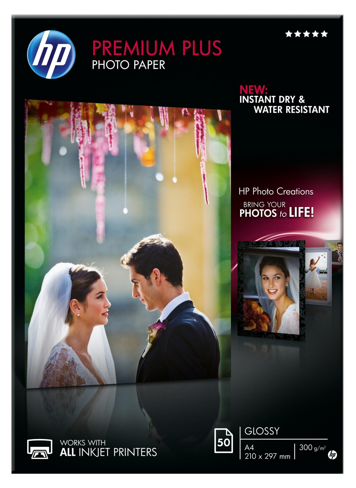 HP CR674A pak fotopapier Wit Glans A4