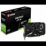 MSI GTX 1660 AERO ITX 6G OC graphics card GeForce GTX 1660 6 GB GDDR5