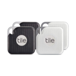 Tile Pro 4-Pack Bluetooth Black, White