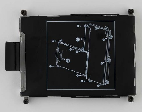 HP 840682-001 notebook spare part HDD tray
