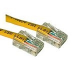 C2G Cat5E Crossover Patch Cable Yellow 0.5m cable de red Amarillo 0,5 m