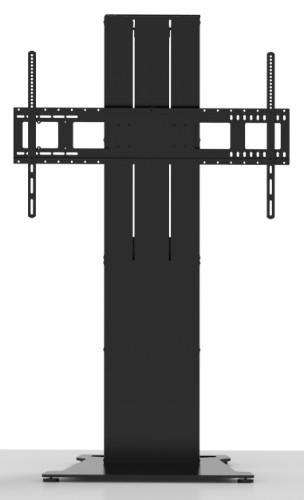 Vision VFM-F40/FP flat panel floorstand Fixed flat panel floor stand Black