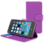 "TheSnugg B00PY133FE 4"" Folio Purple mobile phone case"
