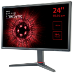 "Hannspree HG 244 PJB computer monitor 61 cm (24"") Full HD LED Flat Black"