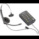Plantronics Savi T110H headset Head-band Monaural Black