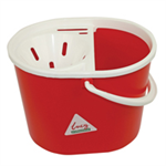 FSMISC LUCY MOP BUCKET 15 LITRE RED