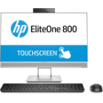 "HP EliteOne 800 G4 60.5 cm (23.8"") 1920 x 1080 pixels Touchscreen 8th gen Intel® Core™ i5 8 GB DDR4-SDRAM 256 GB SSD Windows 10 Pro Wi-Fi 5 (802.11ac) All-in-One PC Silver"