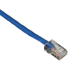 "Black Box EVNSL51-10 networking cable Blue 118.1"" (3 m) Cat5e U/UTP (UTP)"