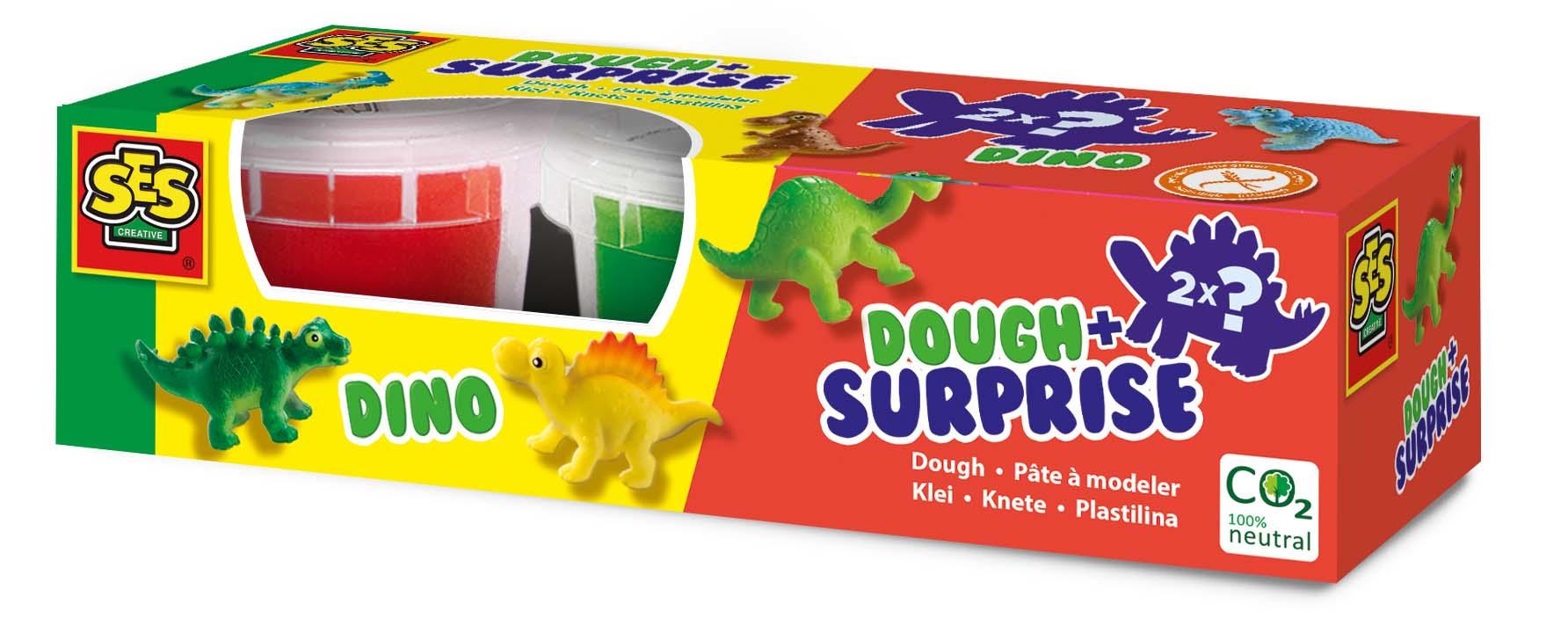 SES Creative Dough with surprise - Dino