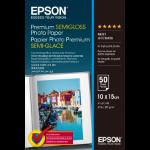 Epson Premium Semi-Gloss - 10x15cm - 50 Sheets photo paper