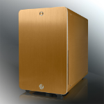 RAIJINTEK Styx Classic Micro-Tower Gold computer case