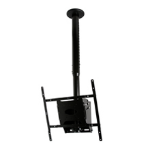 "B-Tech BT8426 50"" Black flat panel ceiling mount"