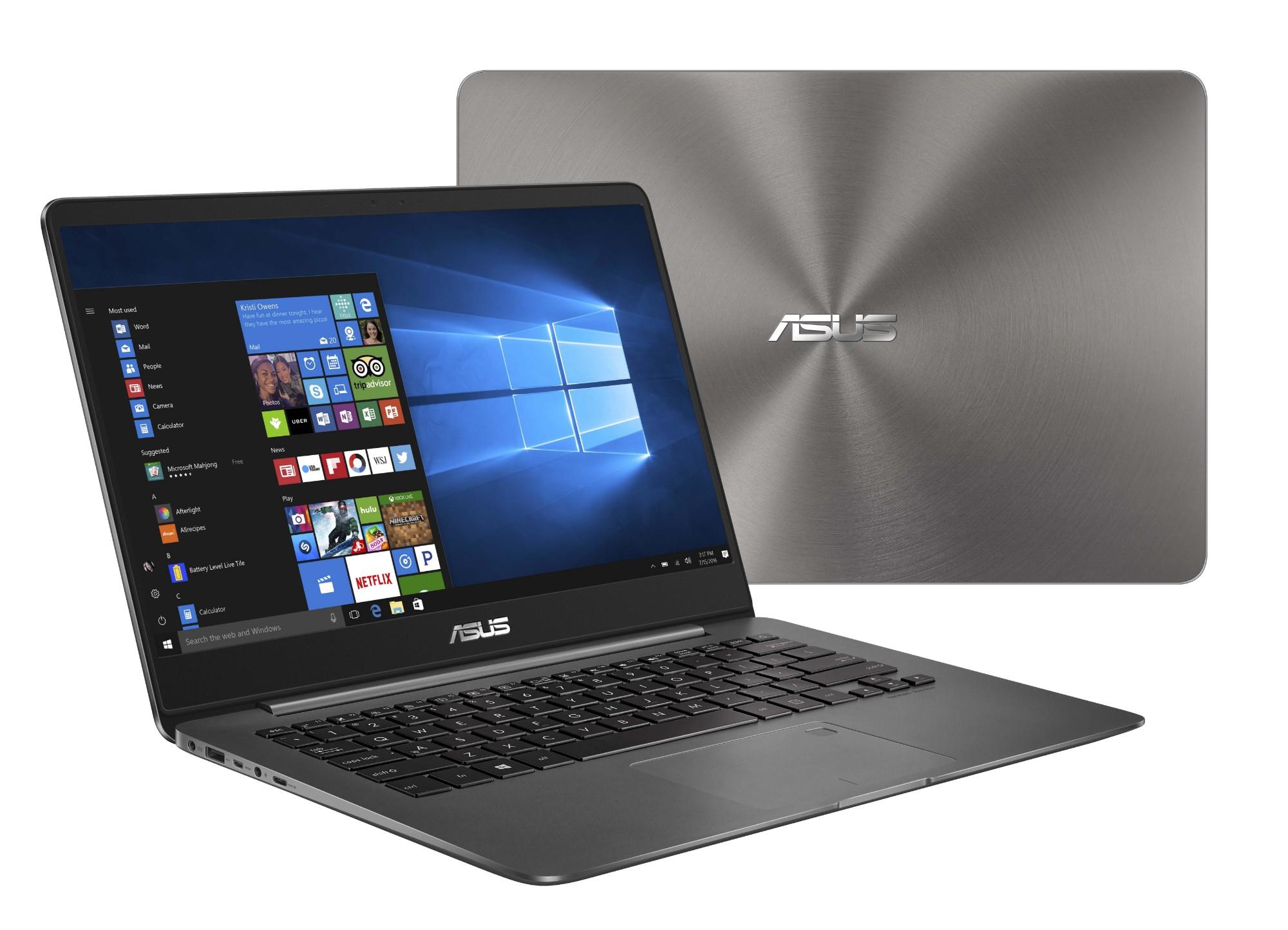 """ASUS ZenBook UX430UQ-GV048T 2.7GHz i7-7500U 14"""" 1920 x 1080pixels Grey Notebook"""