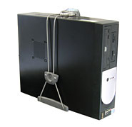 Ergotron Universal CPU Holder Desk-mounted CPU holder Grey