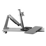 "Tripp Lite WWSS1332C flat panel desk mount 32"" Black"