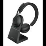 Jabra Evolve2 65, MS Stereo Headset Head-band USB Type-A Bluetooth Black