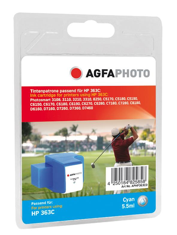 Compatible Inkjet Cartridge - Hp Cyan No 363c