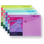 Snopake Polyfile Electra - Assorted Colour Packs - A4 Plus (foolscap) Electra Asst Polypropylene (PP)