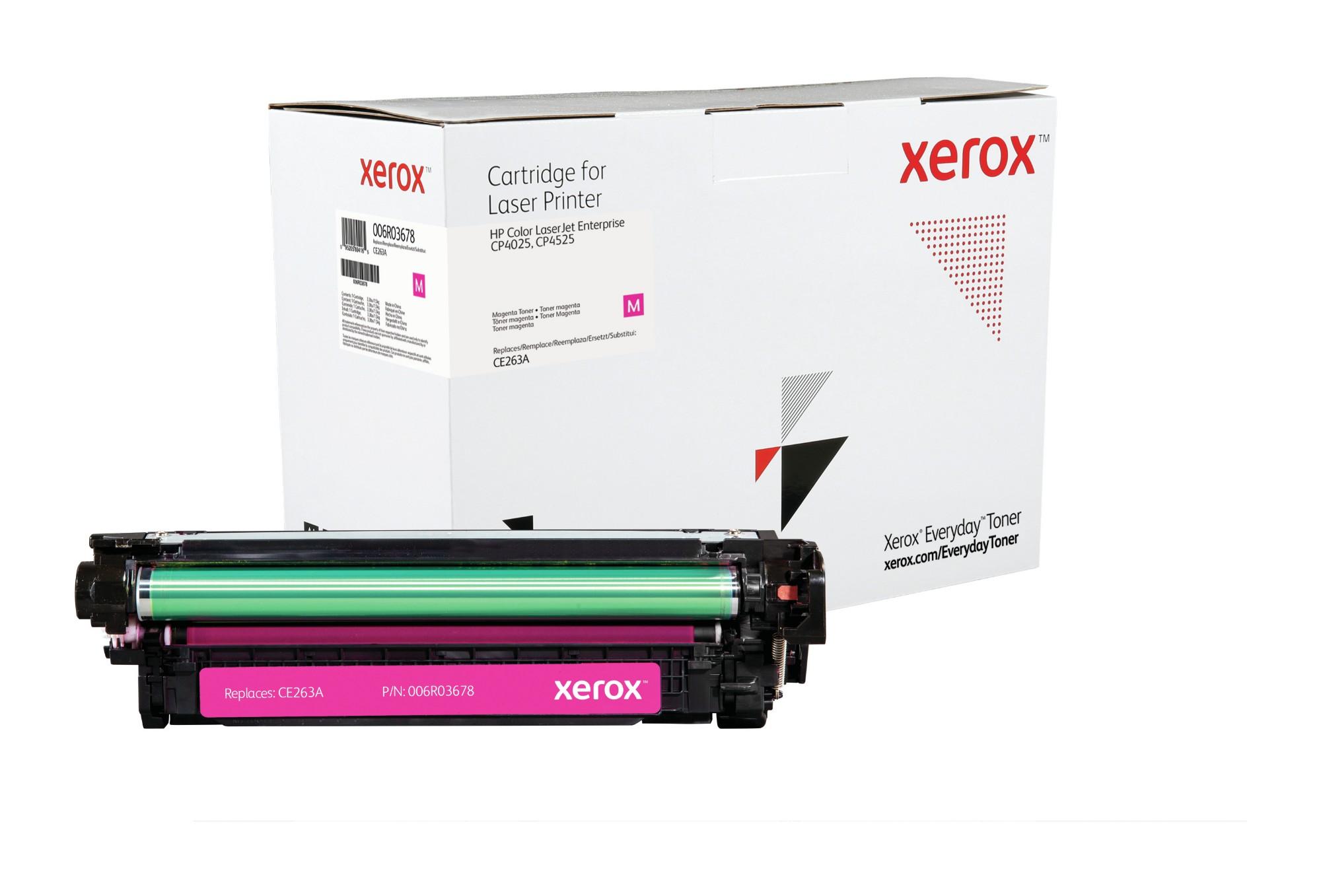 Xerox Tóner Magenta Everyday, HP CE263A equivalente de , 11000 páginas