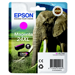 Epson C13T24334010 (24XL) Ink cartridge magenta, 500 pages, 9ml