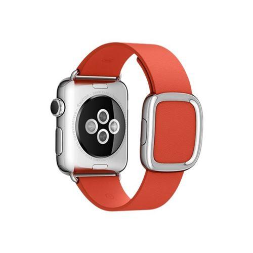 Apple 38mm Modern Buckle - Medium - watch strap - red - for Watch (38 mm)