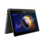 """ASUS BR1100FKA-BP0043RA-3Y DDR4-SDRAM Hybrid (2-in-1) 29.5 cm (11.6"""") 1366 x 768 pixels Touchscreen Intel® Celeron® N 4 GB 64 GB eMMC Wi-Fi 6 (802.11ax) Windows 10 Pro Grey"""