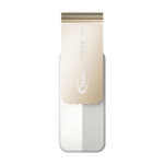 Team Group C143 USB flash drive 32 GB 3.0 (3.1 Gen 1) USB Type-A connector Gold, White