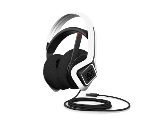 HP 6MF36AA Headset Head-band USB Type-A White
