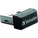 Verbatim 16GB Store' n' Go Nano USB 2.0 16GB USB 2.0 Type-A Black USB flash drive