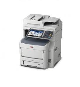 OKI MC780dfnfax A4 Colour Multifunction Printer, 40ppm Mono, 40ppm Colour, 1200 x 600dpi Print Resolution, 3 year On-Site warranty