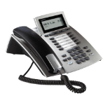 AGFEO 6101132 Analog telephone Caller ID Silver telephone