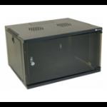 EXC 755075 rack cabinet 9U Freestanding rack Black