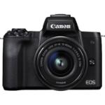 Canon EOS M50 + EF-M 15-45mm IS STM MILC 24.1 MP CMOS 6000 x 4000 pixels Black