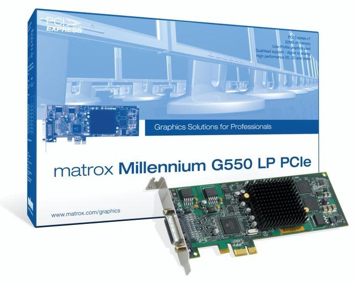 Millennium G550 Low Profile Pci-e Rohs