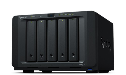 Synology DS1517+(2GB) + 5 x 2TB Seagate IronWolf NAS HDD Seagate Rescue Service