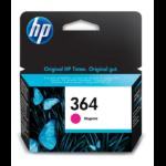HP CB319EE (364) Ink cartridge magenta, 300 pages, 3ml