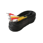 Steren Electronics Intl 6' St VCR Cable Nickel 3x Shielded