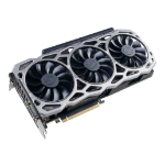 EVGA GeForce GTX 1080 Ti FTW3 GAMING GeForce GTX 1080 Ti 11GB GDDR5X