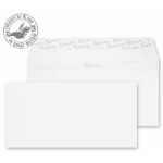 Blake Premium Business Wallet Peel and Seal Ice White Wove DL 110x220mm 120gsm (Pack 500)