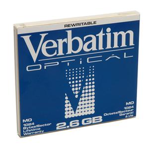 "Verbatim MO Disk 2,6GB 5.25"" magneto optical disk 13.3 cm (5.25"")"